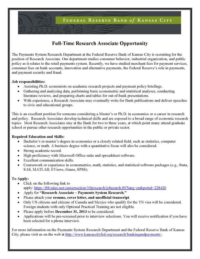 fedresra-job-description-payments-system-research