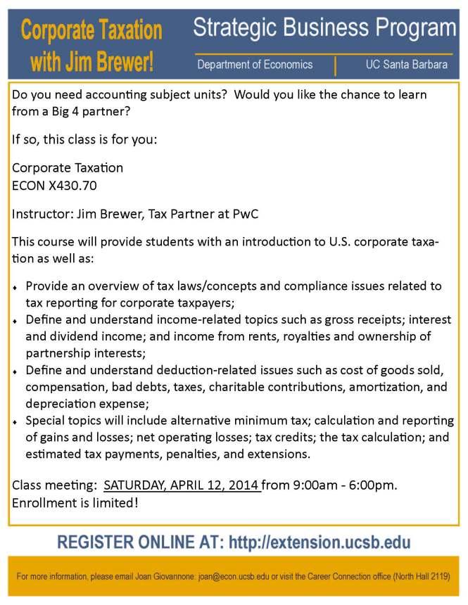 SBP - corporate tax