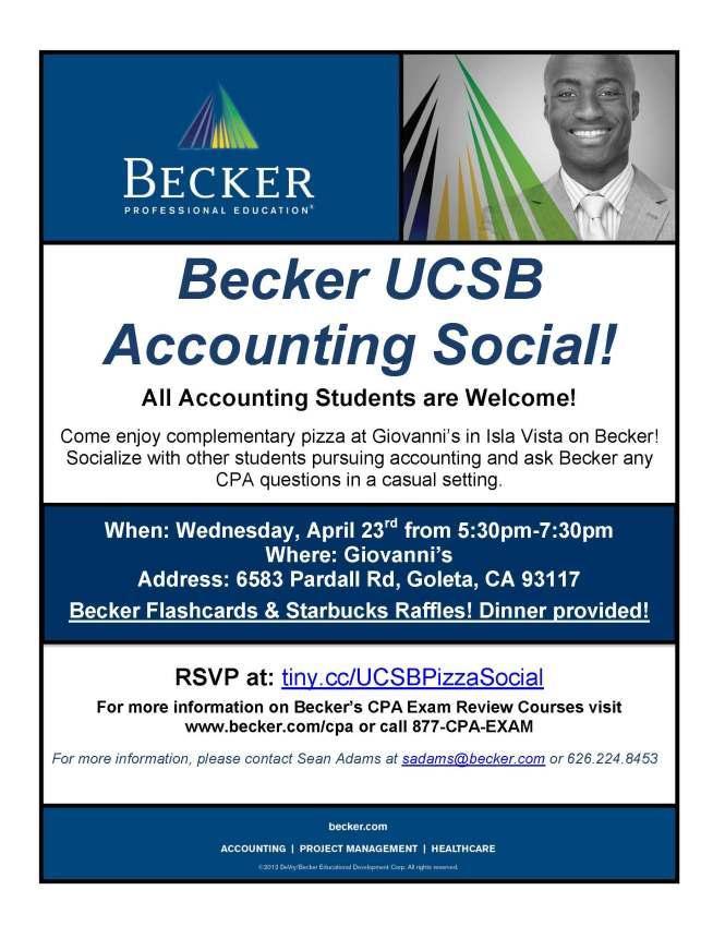 UCSB Becker Social 2014