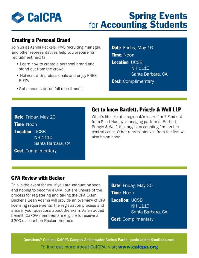 CalCPA Spring Events Flyer