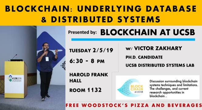 Blockchain at UCSB PRESENTS: Tech Talk with Victor Zakhary